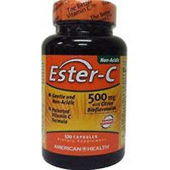 American Health Ester-c Sitrushedelmien bioflavonoidien kanssa, 500 mg, 120 Vegicaps