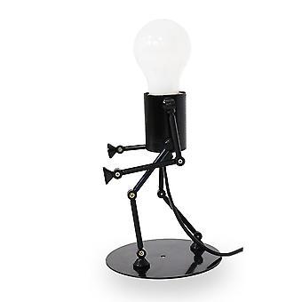 Table lamp robot lamp Robo-T black E27 10890