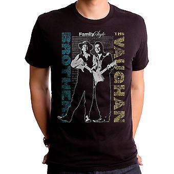 Familie stijl Jimmie en Stevie Ray Vaughan T-shirt