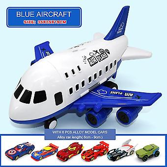 Simulation Track Inertia's Aircraft Large Size Passenger Plane Kids Airliner