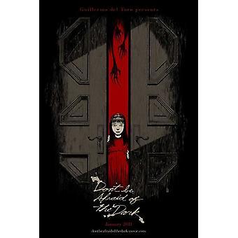 Dont være redd for mørke filmen plakaten (11 x 17)