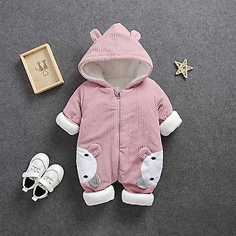 Autumn Winter New Born Baby Clothes Rompers , Jumpsuit Overalls Costume Infant