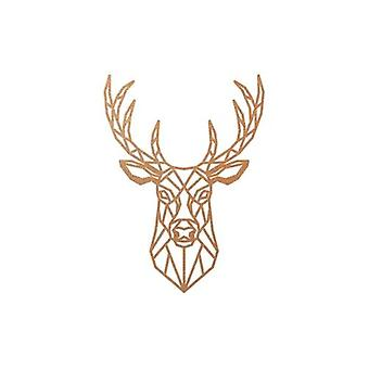 Geometric Deer Wall Hanging