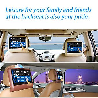"9"" Car Headrest Dvd Player Ultra Thin Big Screen Mp5 Player Backseat Tv Video Input Game Player"