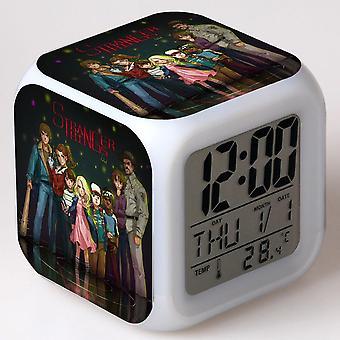 צבעוני רב תכליתי LED ילדים & apos;שעון מעורר -Temporada דה זר דבר