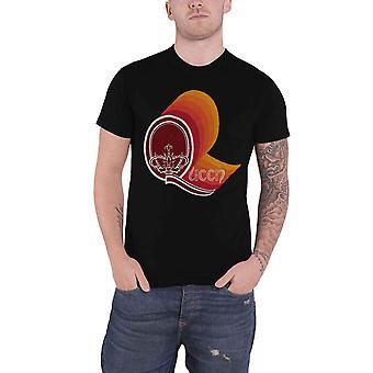 Queen T Shirt Retro Vintage Band Logo nuevo Oficial Negro