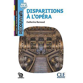 Decouverte: Disparitions a l'opera