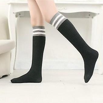 Girls-boys Sports/school White Socks Skate Baby Long Tube Leg Warm