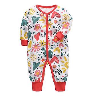 Vastasyntynyt vauvanvaatetus - Cotton Sleeper Pajama