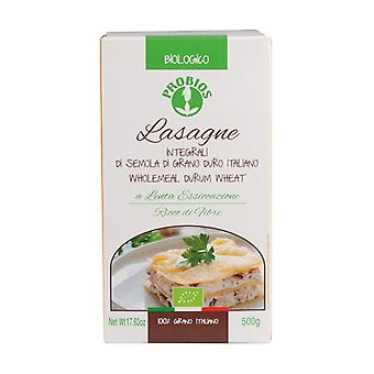 Whole wheat lasagna 500 g