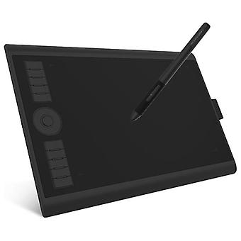 Art Digital Graphic Tablet For Drawing Supports Tilt & Radial Function With 10