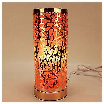 IEP Amber Rose Gold Abstract Raindrop Aroma Lamp