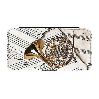 French horn iPhone 12 Mini Wallet Case