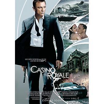 James Bond Casino Royale Postcard