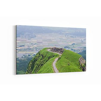 Malerei - Laputa Straße Japan - 90x60cm