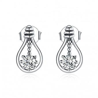 Silver Earrings Incandescent - 6989