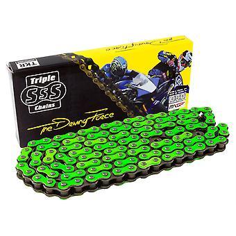 Triple-S HD Chain 428H-130 Link Green Colour