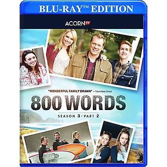 800 ord: Sesong 3 - Del 2 [Blu-ray] USA import