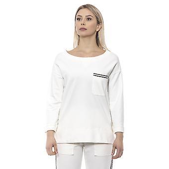 White Pullover Alpha Studio Women