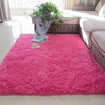 Thickened Washed Silk Hair Non-slip Carpet
