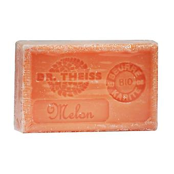 Marseille soap - Melon + organic shea butter 1 unit