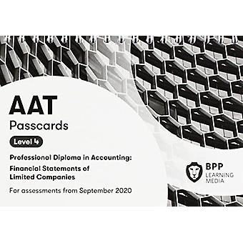AAT Financial Statements of Limited Companies  Passcards by BPP Learning Media
