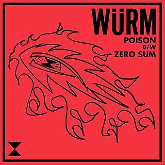 Wurm - Poison / Zero Sum [Vinyl] USA import