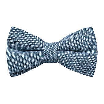 Highland tejido Stonewashed pajarita azul