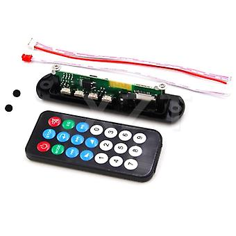 12v Car Usb Bluetooth Mp3 Player Decoder Board Module With Remote Control Usb