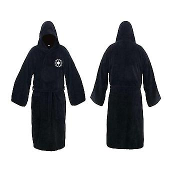 Flanela Robe Masculino com Capuz, Vestido de Star Wars Grosso, Men 's Bathrobe,