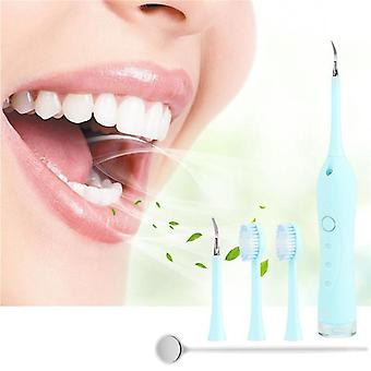 Limpiador portátil de dientes ultrasónico eléctrico, escalador dental, tártaro manchas