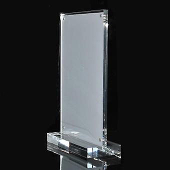 10pcs A6 Vertical Acrylic T Type Strong Magnetic Platform Sign Card Display
