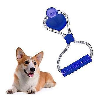 Molar Giocattolo a sfera di gomma auto-gioco con ventosa dog interactive