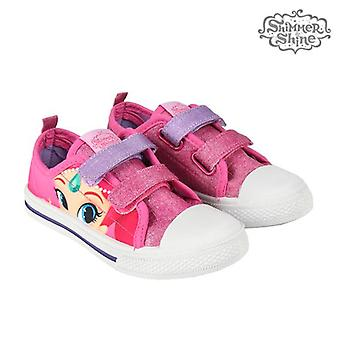 Casual trainers shimmer and shine 73632