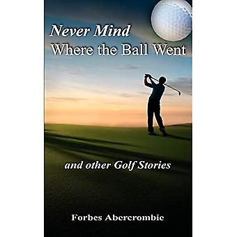 Never Mind Where the Ball Went and Other Golf Stories