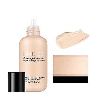 Long lasting liquid cream natural base makeup foundation 60ml in matte
