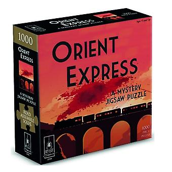The Orient Express Murder Mystery Puzzle