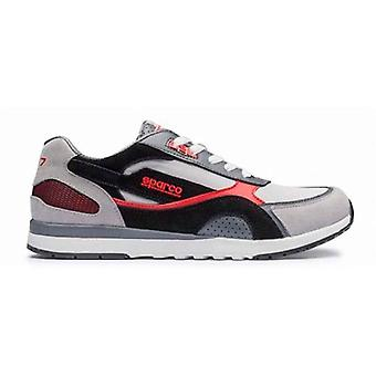 Casual Trainers Sparco SH-17 Black/Red