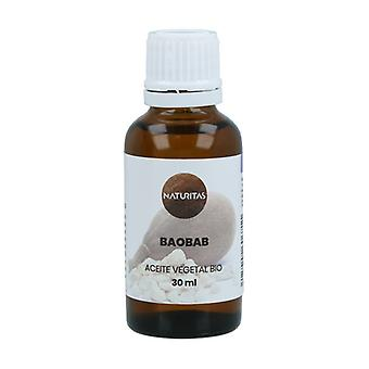 Orgaaninen baobab-kasviöljy 30 ml öljyä
