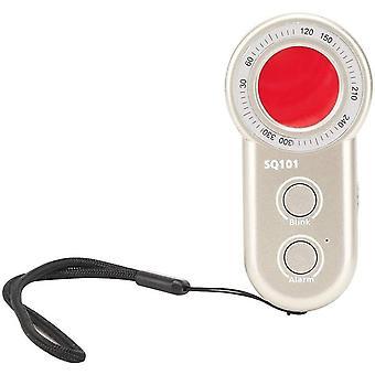 Spy Detector & Hidden Camera Locator Infrared Anti-Theft Security Scanner Locator for Hotel Bathroom Entertainment Venues (black)