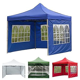 New Outdoor Party Waterproof Oxford Cloth Tents Gazebo Accessories Rainproof Canopy Cover(blue)