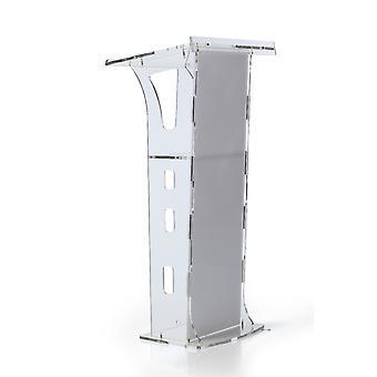 Crystal Podium Akryl Platform Stage Launch Ceremoni Podium Kirke Prædikestol