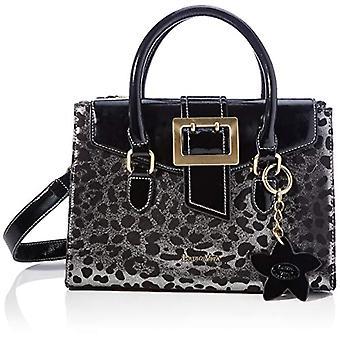 Laura Vita 3836, Women's Handle Bag, Black, Medium