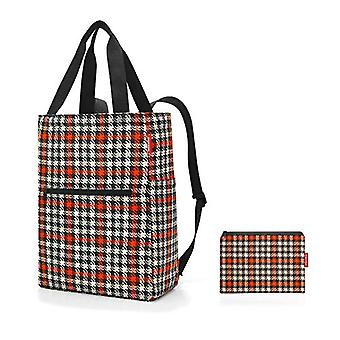 Reisenthel mini maxi 2-in-1 glencheck red Backpack Casual 41 Centimeters 19 Multicolor (Glencheck Red)