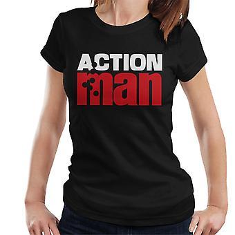Action Man Red Logo Women's T-Shirt