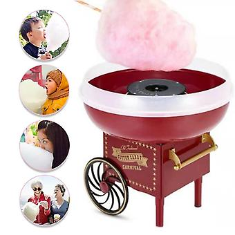 Trolley Cotton Candy Machine, Mini Floss Maker, Home Use, Countertop Electric,