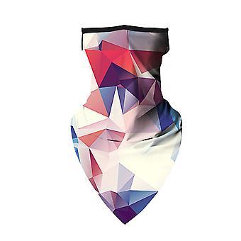 Neck Bandana Ear Hanging Face Covering  Design 3
