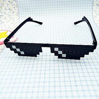 Thug Life Lasit 8 bittiä Pixel Käsitellä sen Aurinkolasit Unisex Aurinkolasit