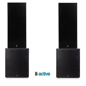 """Big gig rig 26 - active 4000w rms twin 15"""" tops and 18"""" subwoofer pa system with bluetooth"""