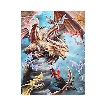 19x25 Dragon Clan Canvas-tekijä Anne Stokes